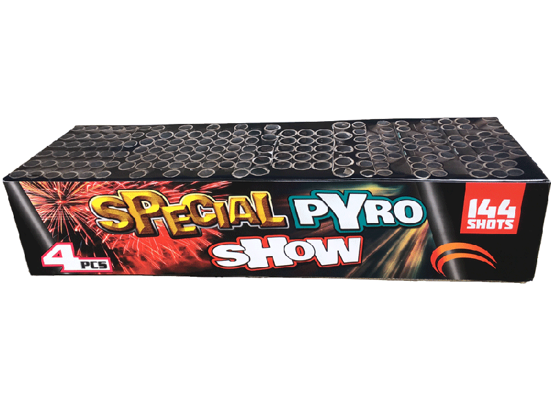 Special pyro show