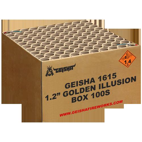 "1.2"" Golden illusion"
