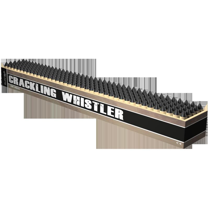 Burn It - crackling whistler