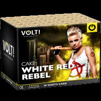 HIGH VOLTAGE - White Red Rebel