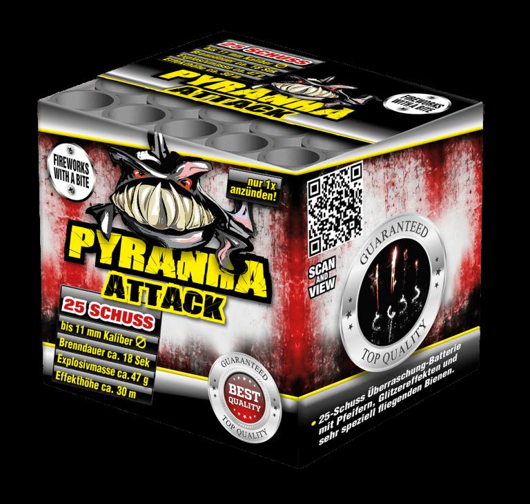 Pyranha Attack 25 Schuss