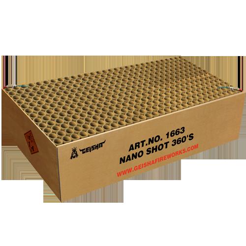 Nano shot 360'S     ***NIEUW***