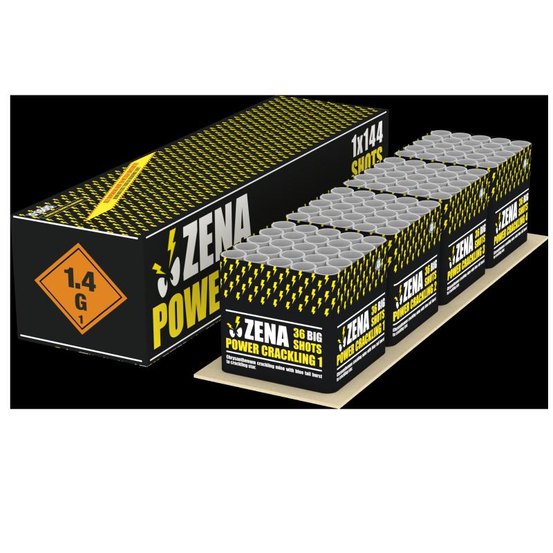 Zena Power crackling box ***NIEUW***