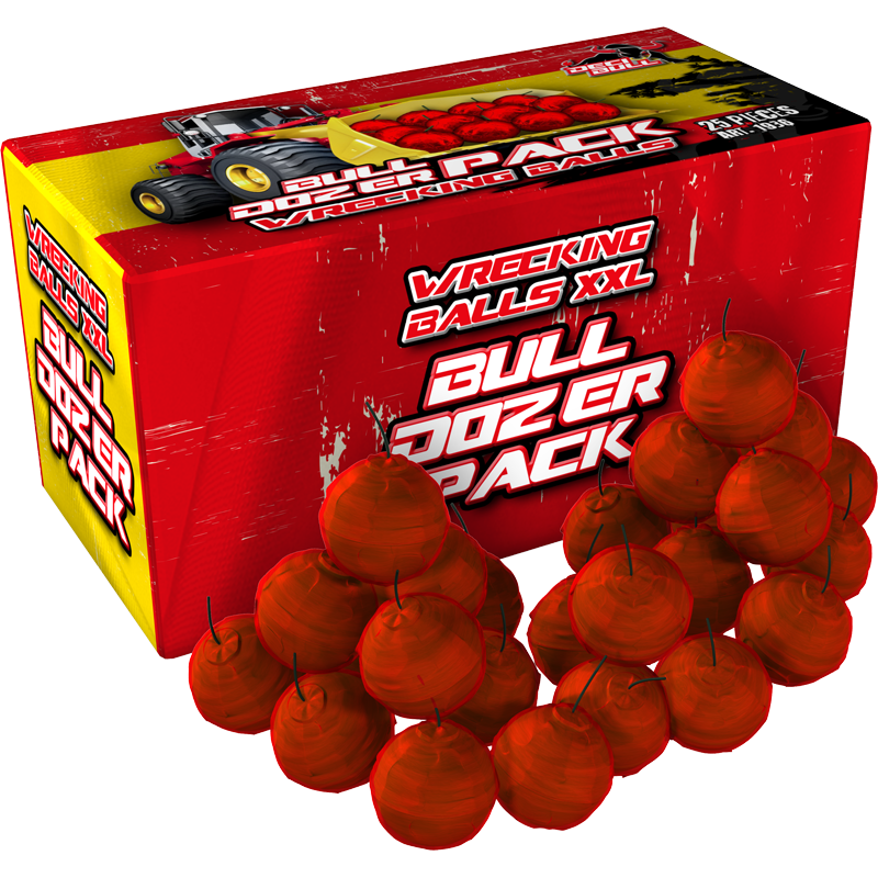 Wrecking balls buldozer pack