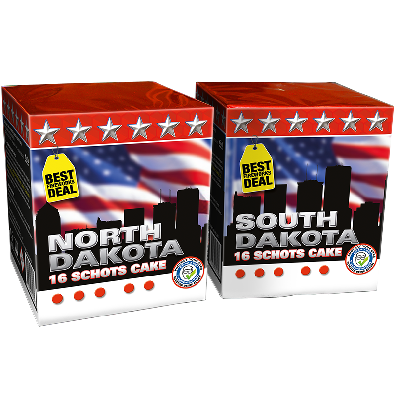 Dakota south & north