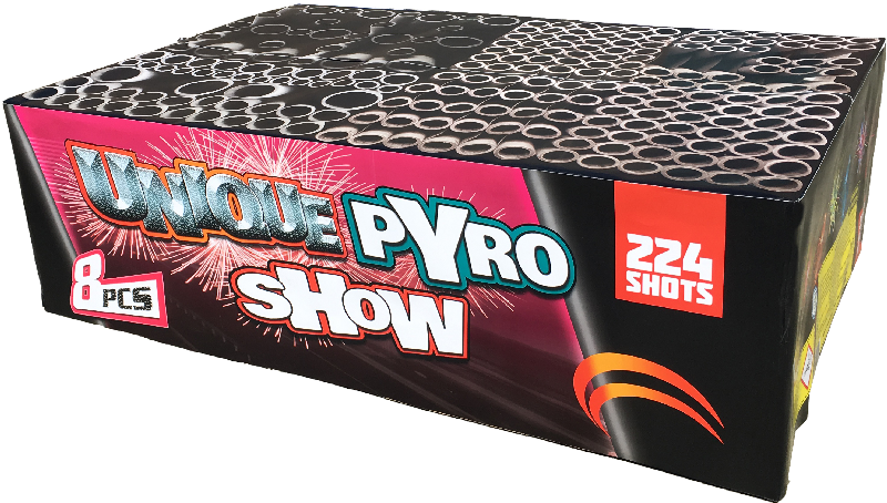 Unique pyro show