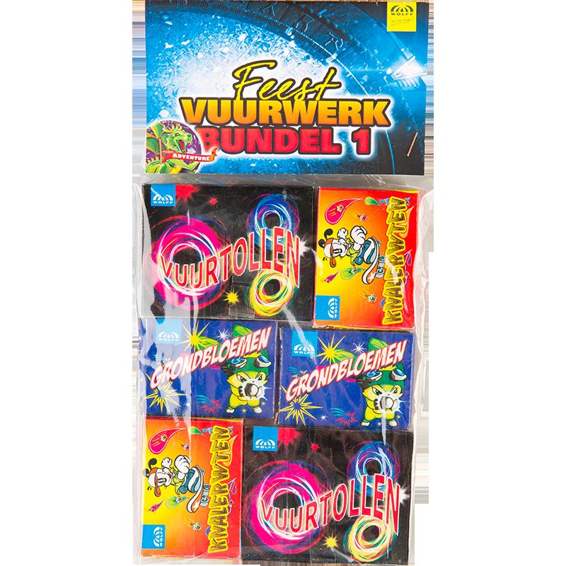 Feest Vuurwerk Bundel 1 1+1 gratis