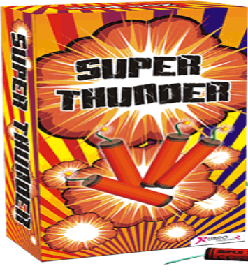 100x Super Thunder Kanonslag