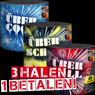 Ubercool, Uberschon, Ubertol 3 halen = 1 betalen