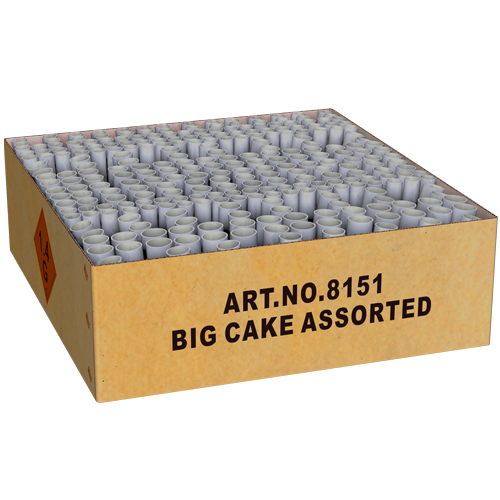 Big Cake Assorted [Karton]