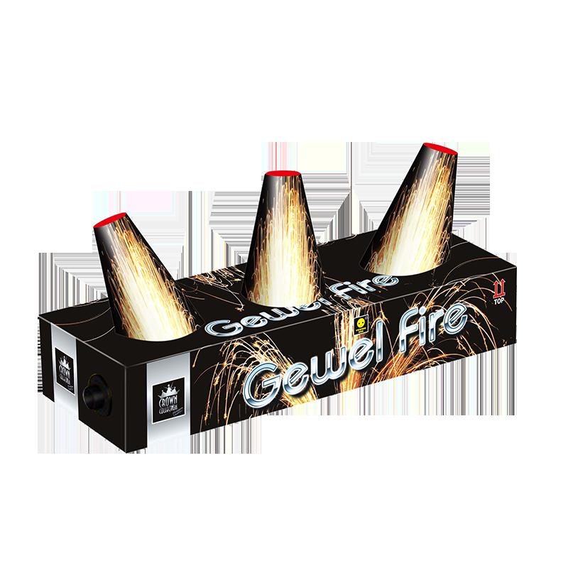 GEWEL FIRE FOUNTAIN 1+1 GRATIS!