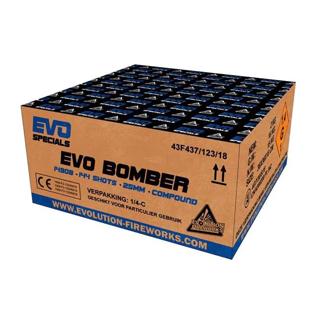 EVO BOMBER 144 schoten