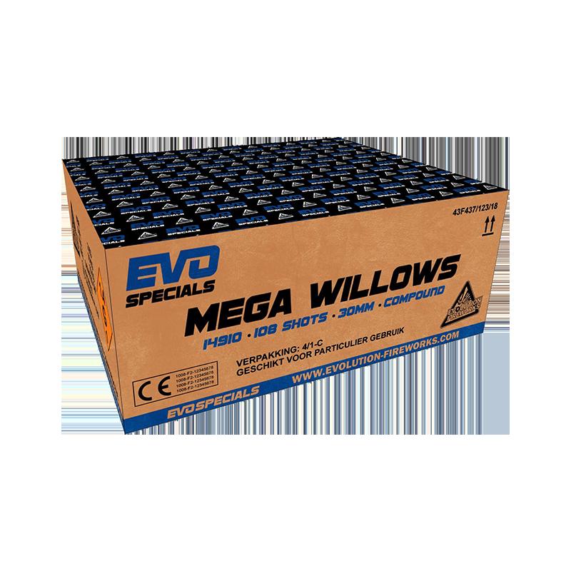 MEGA WILLOWS 108 schoten