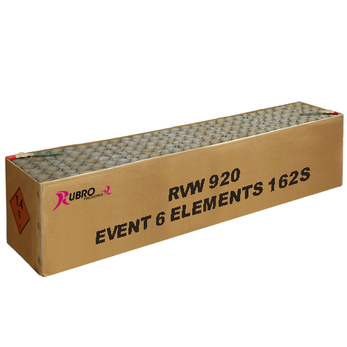 EVENTBOX 6 ELEMENTS 162 schoten