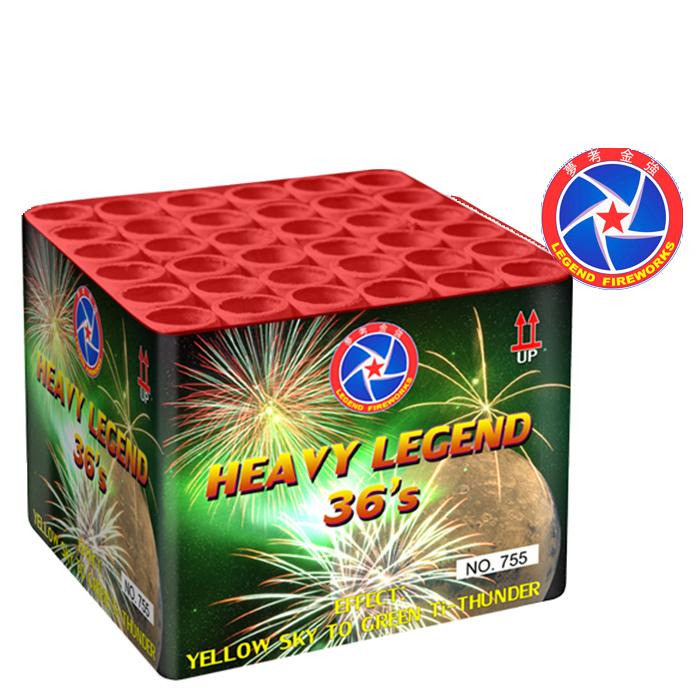 HEAVY LEGEND 36 schoten / YELLOW SKY TO GREEN