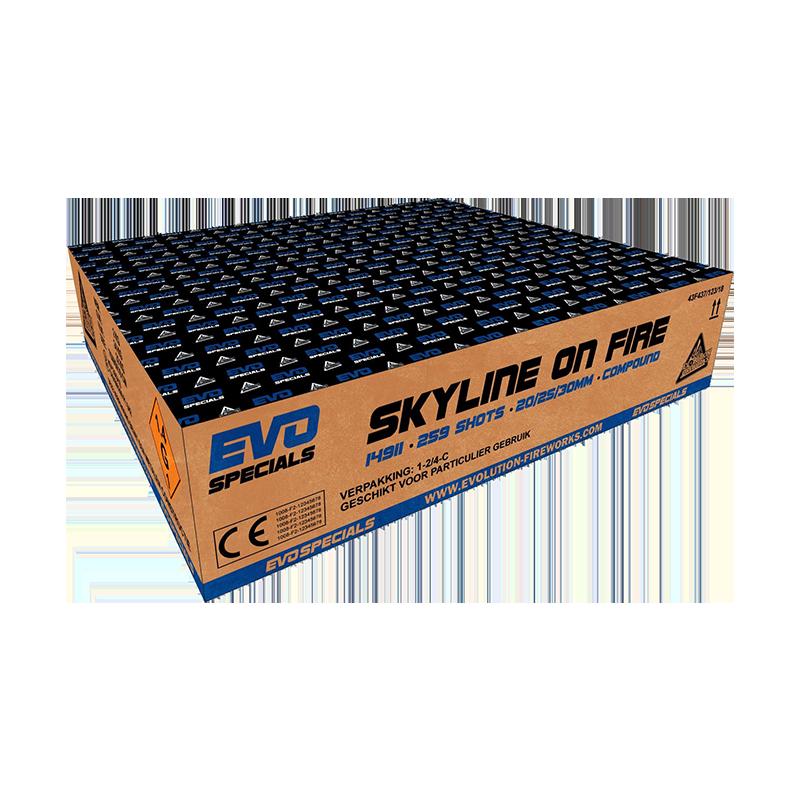 Skyline on Fire [Karton]