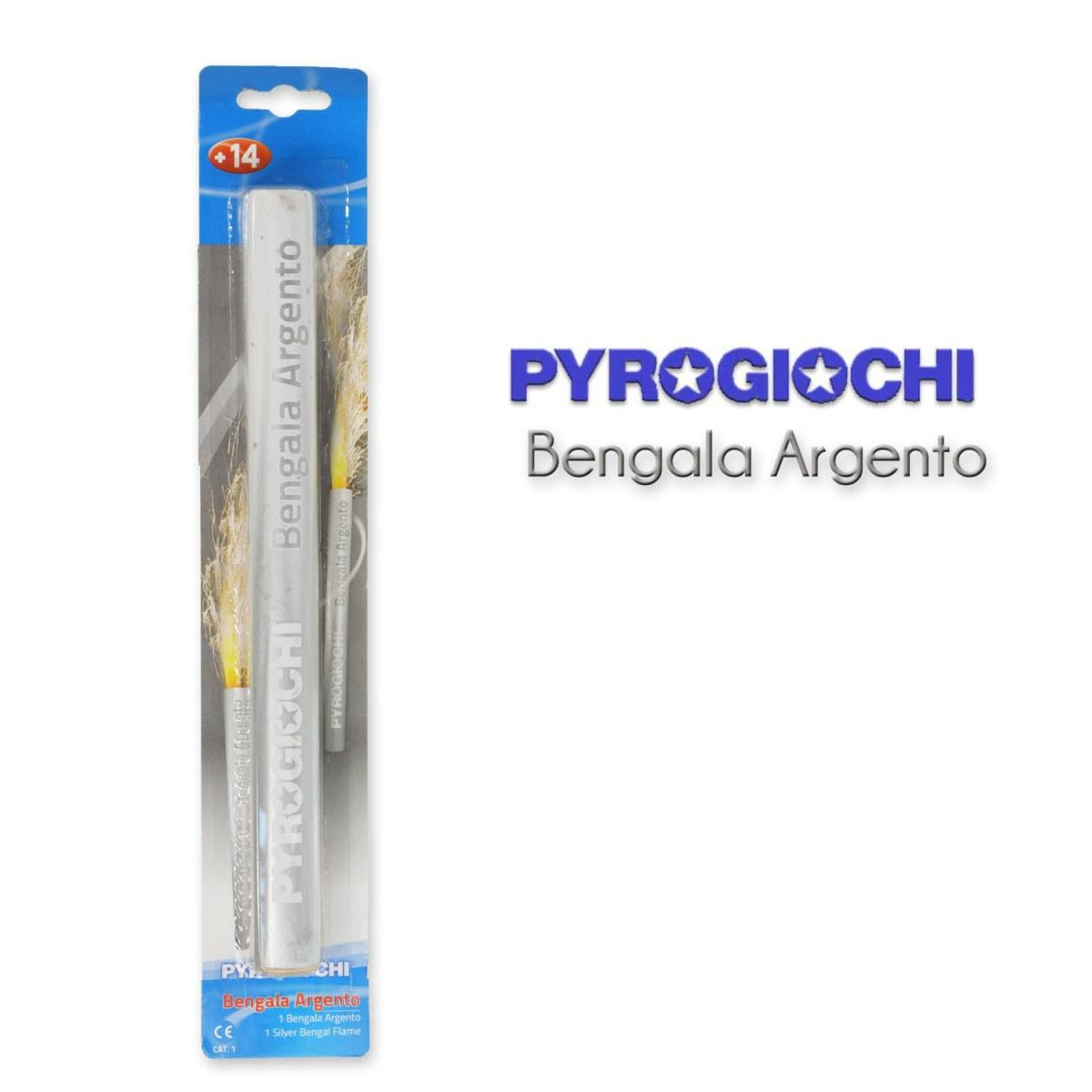 Pyrogiochi Bengaal Silver