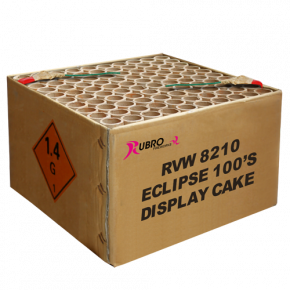Event Eclipse display cake 100's