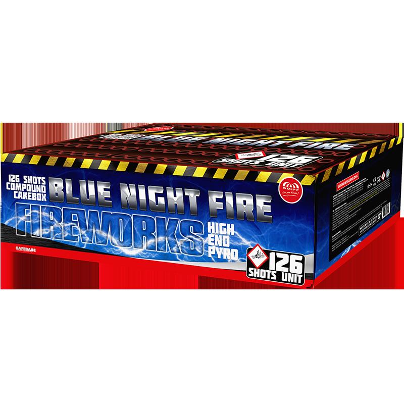 Blue Night Fire