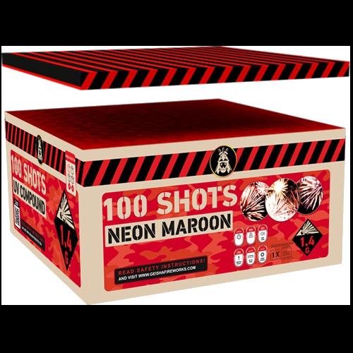 Neon Maroon