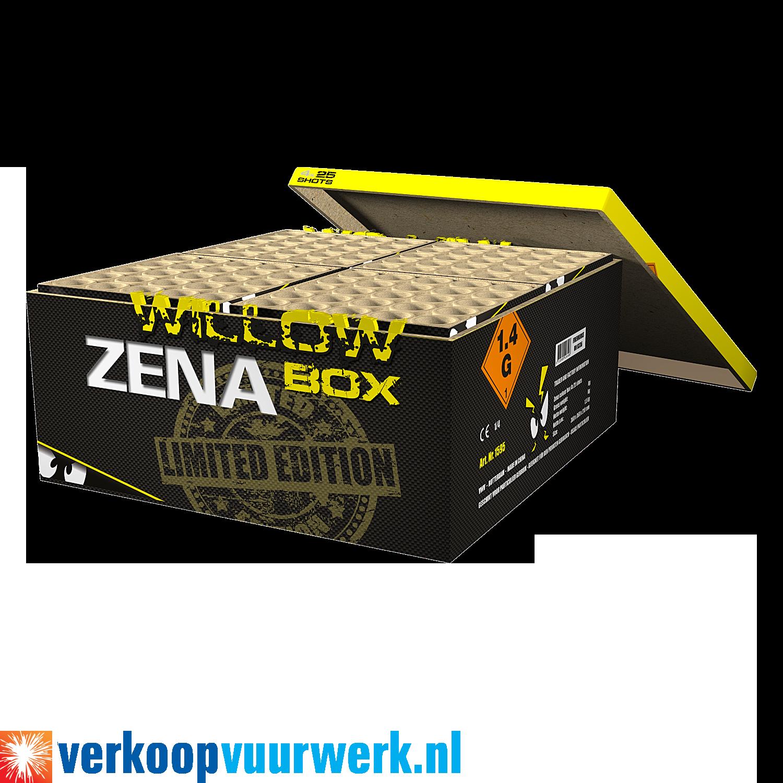 Zena golden willow box