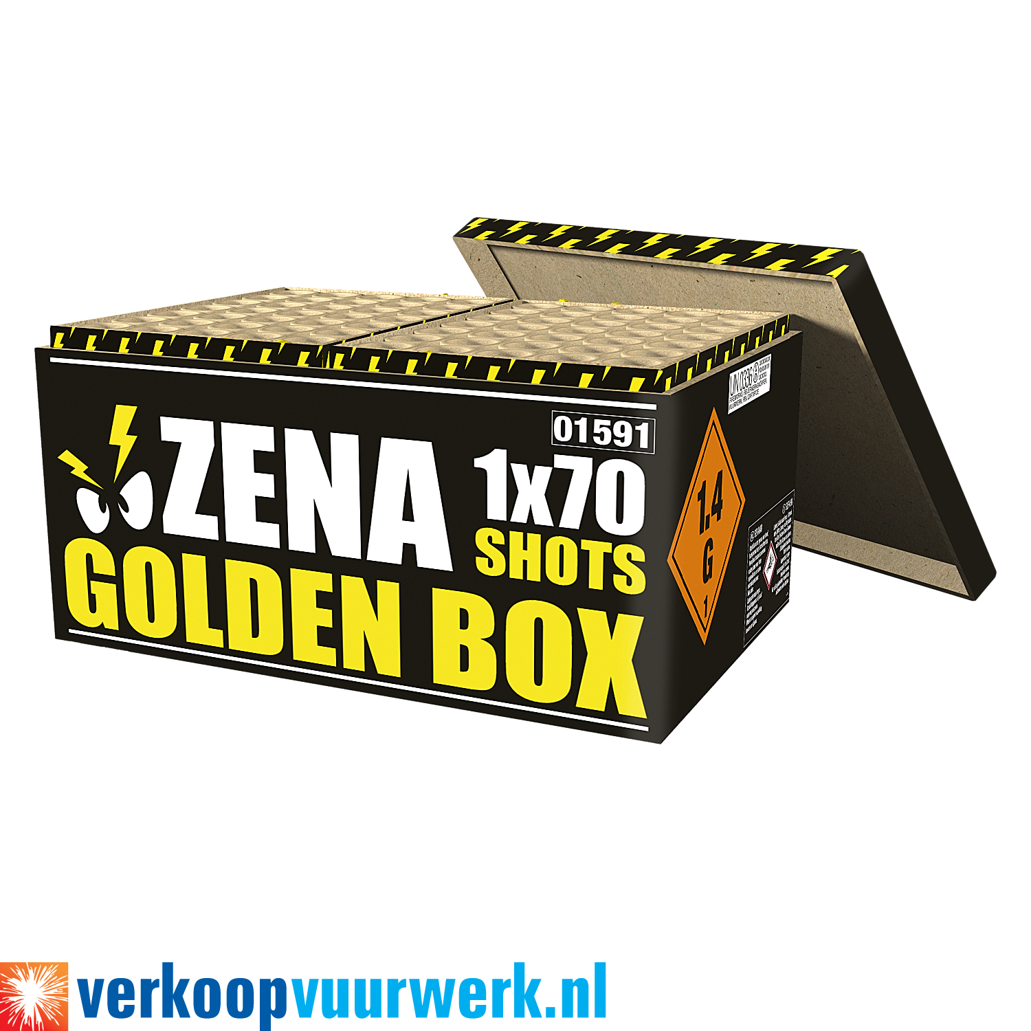 Zena golden box
