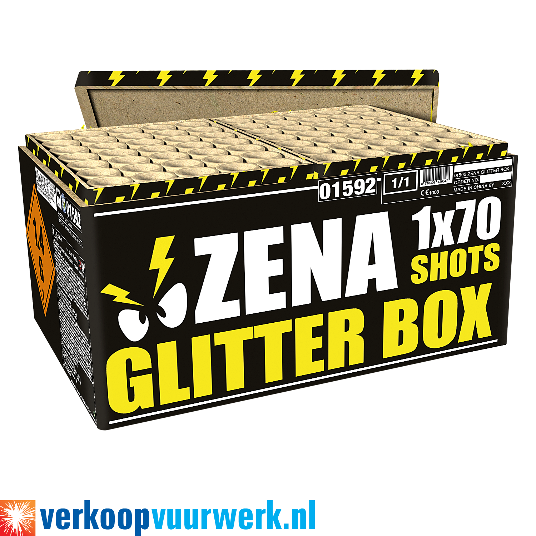 Zena glitter box