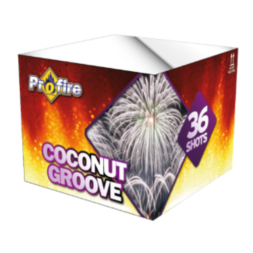 ART. 1110 COCONUT CROOVE, 36 SHOTS CAKE (PF-10)