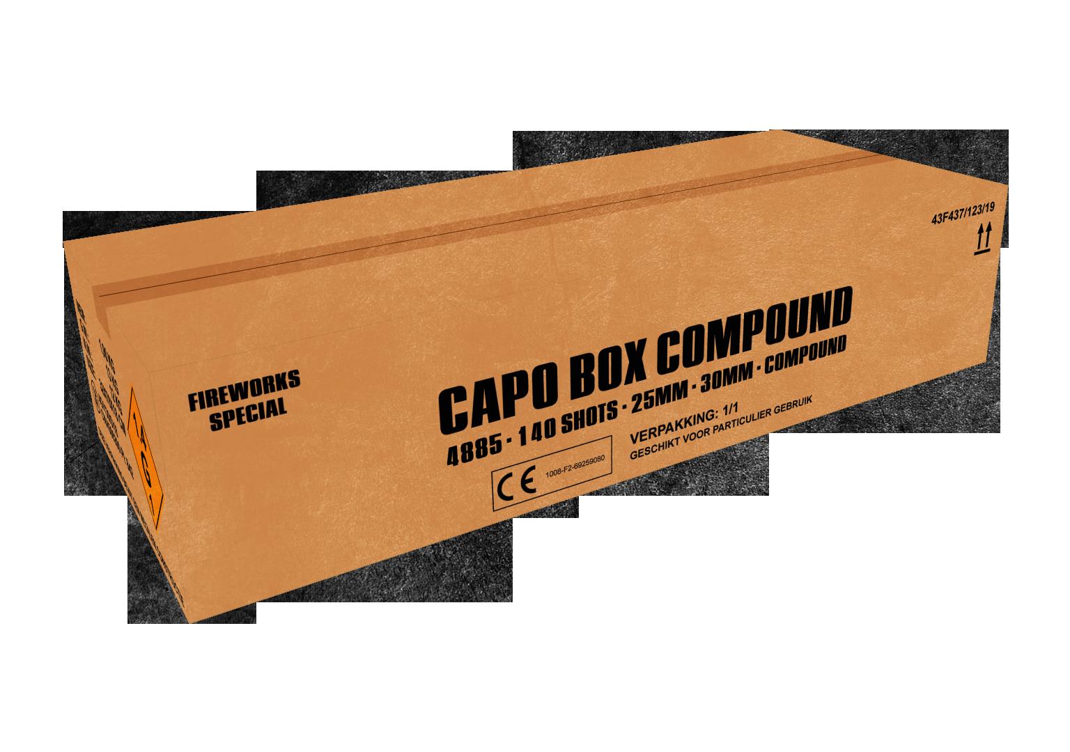ART. 4885 CAPO BOX WAAIERBOX, 140 SHOTS COMPOUND