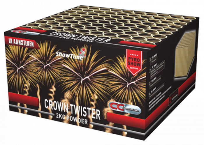 ART. 5116 CROWN TWISTER, 100 SCHOTEN