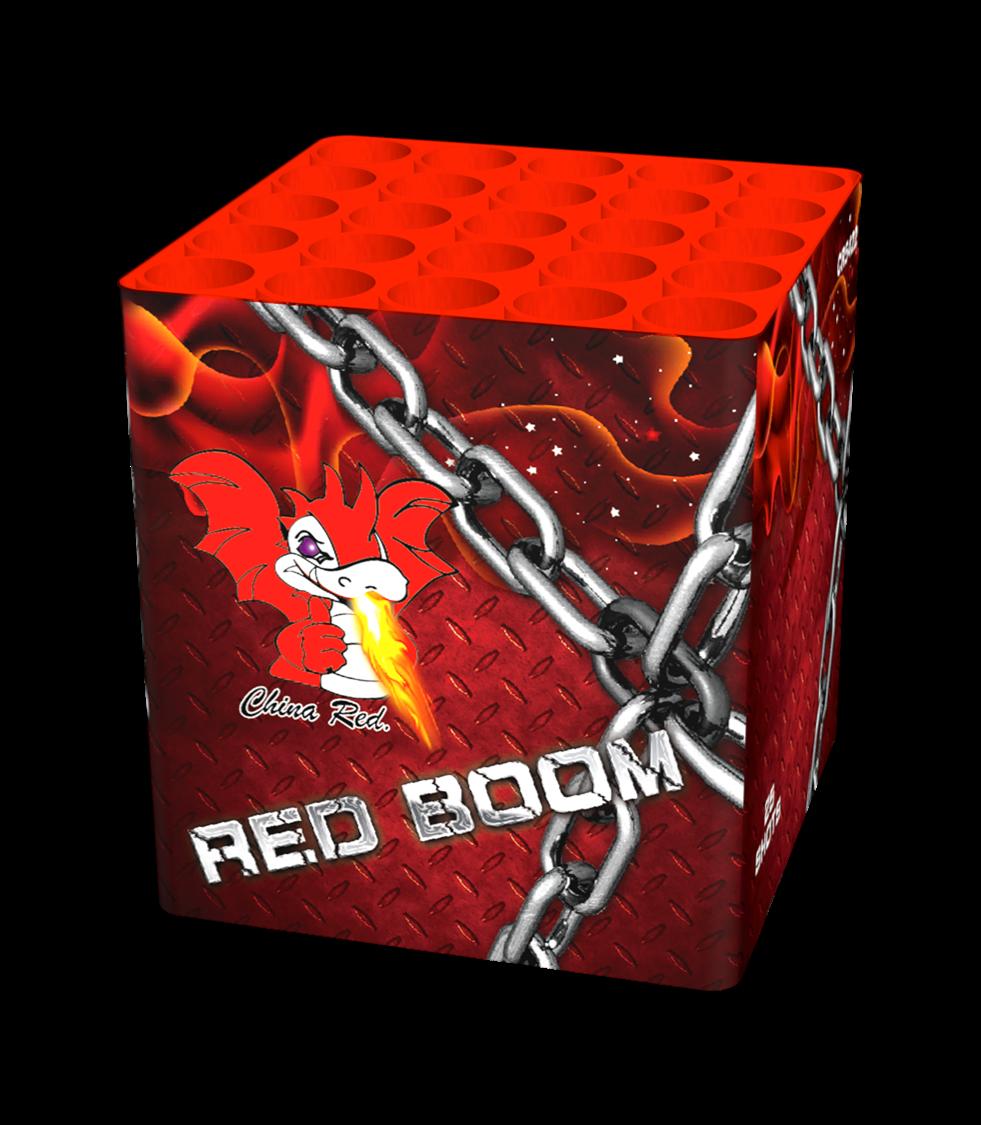 ART. 3703 RED BOOM, 25 SHOTS OP=OP