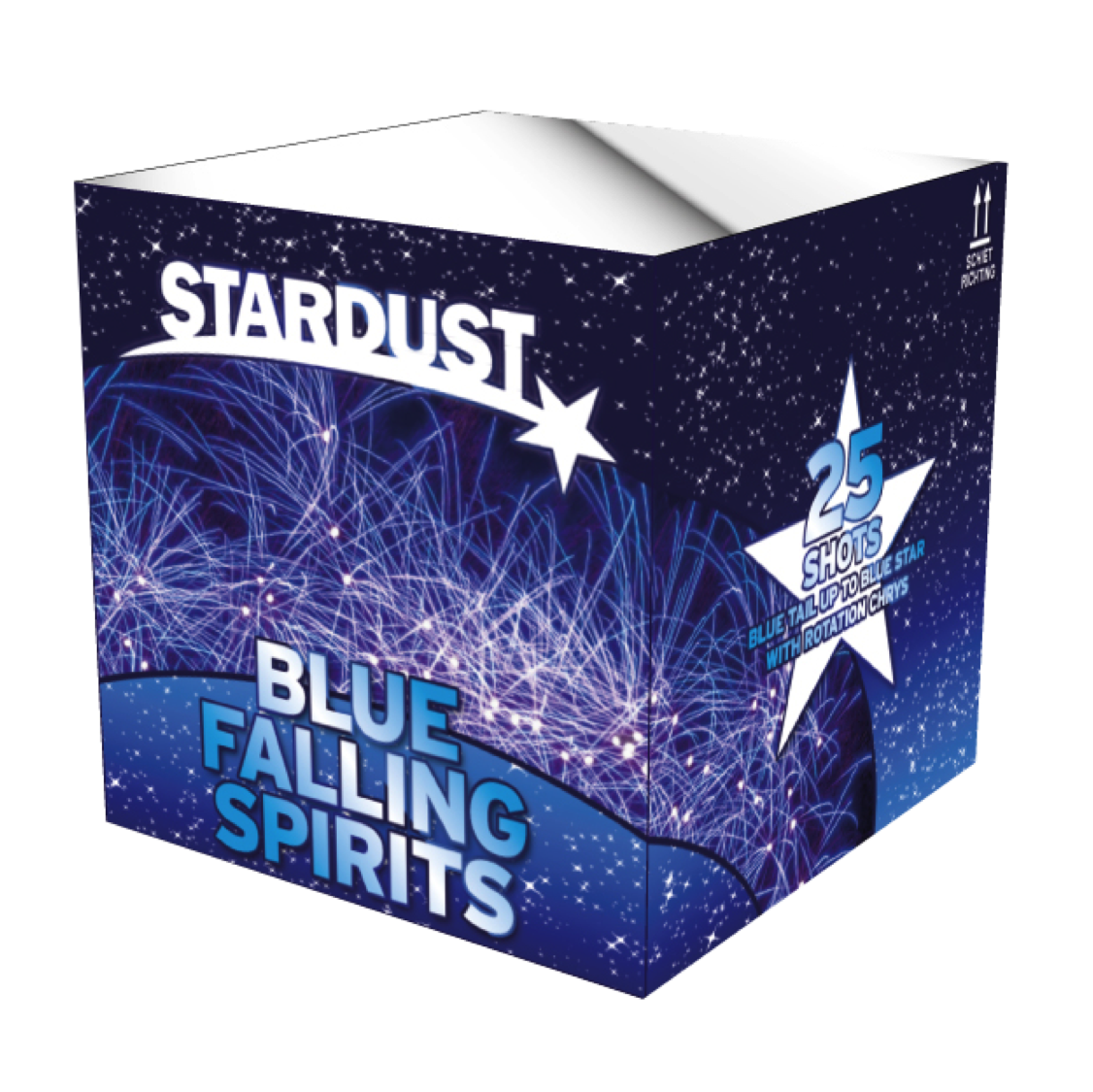 ART. 2202 BLUE FALING SPIRITS (SD-03), 25 SHOTS