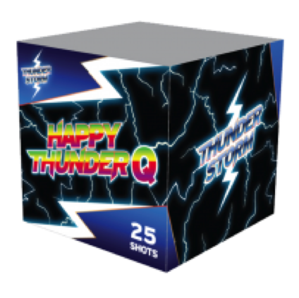 ART. 4402 HAPPY THUNDER Q (TS-02), 25 SHOTS