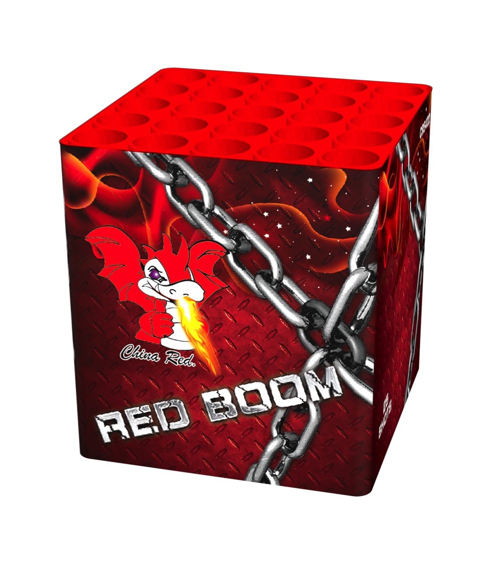 ART. 3703 RED BOOM, 25 SHOTS