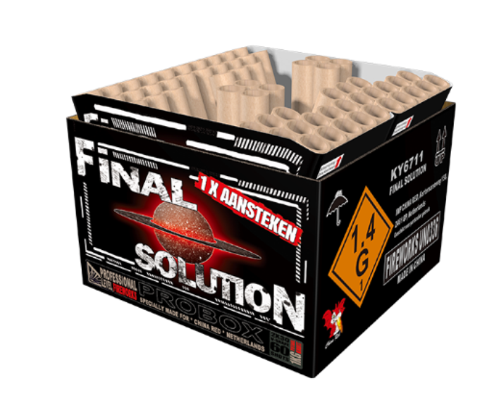 ART. 6711 FINAL SOLUTION, 2 X 30 SHOTS