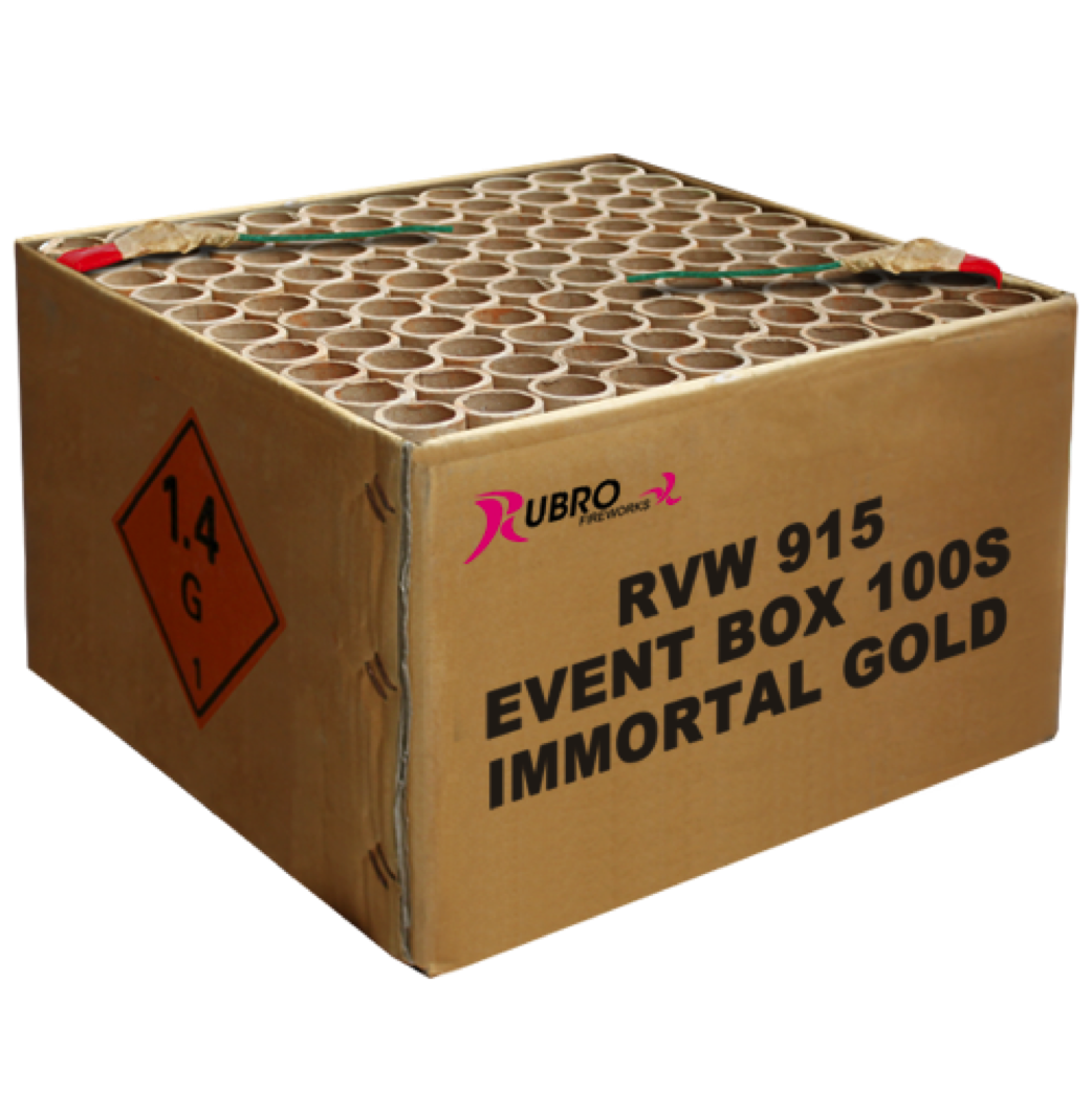 ART. 915 IMMORTAL GOLD, 100 SHOTS