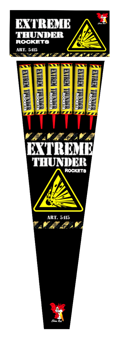 ART. 4706 EXTREME THUNDER ROCKETS