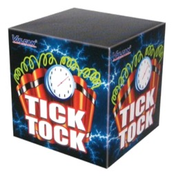 ART. 30018 TICK TOCK, 25 SHOTS