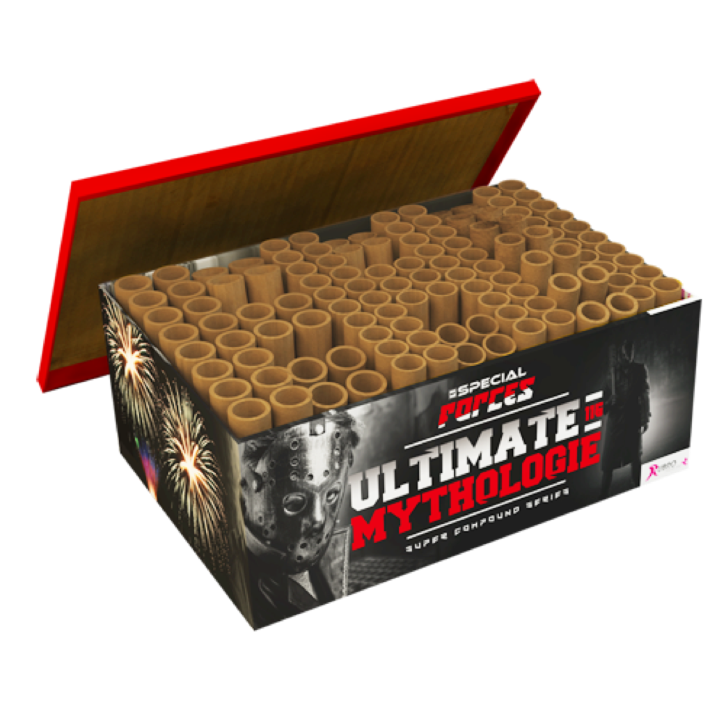 ART. 476 ULTIMATE MYTHOLOGY BOX, 116 SHOTS