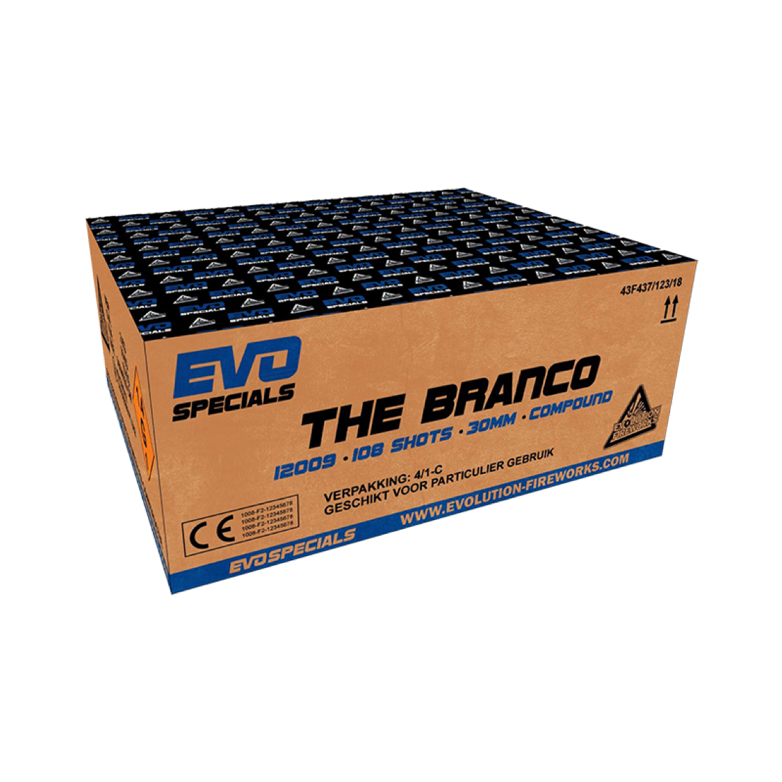 ART. 12009 THE BRANCO, 108 SHOTS. LIMITED EDITION