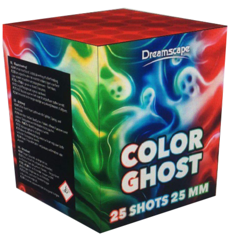 ART. 2509 COLOR GHOST, 25 SHOTS