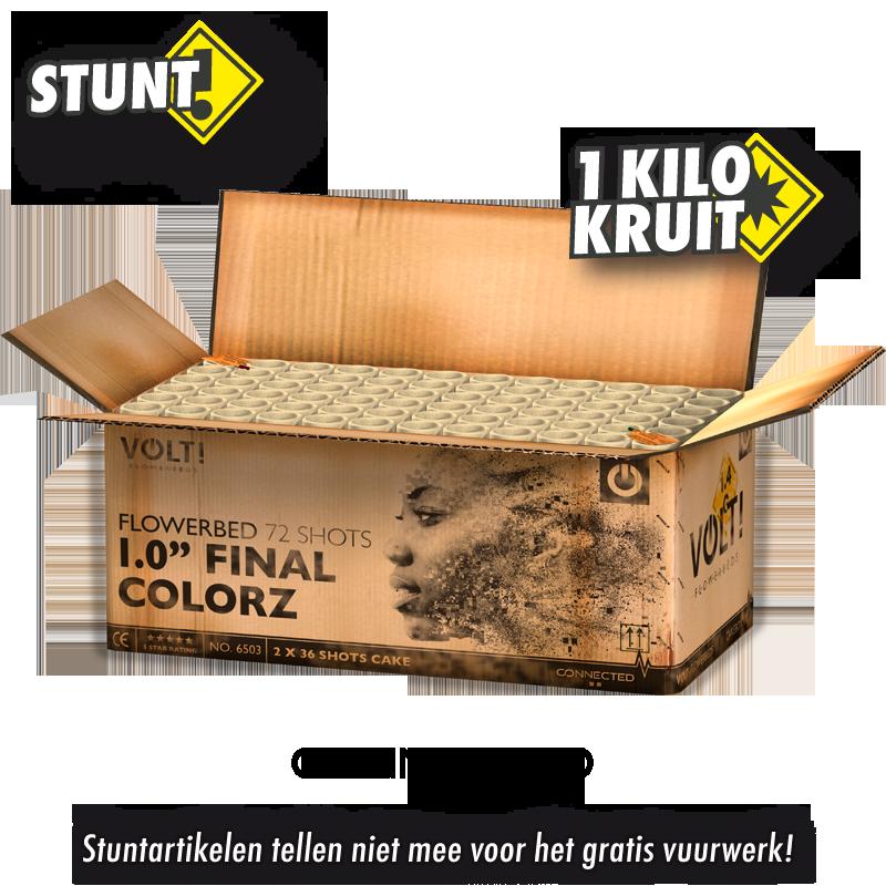 """VOLT! 1.0"""" Final Gold"""