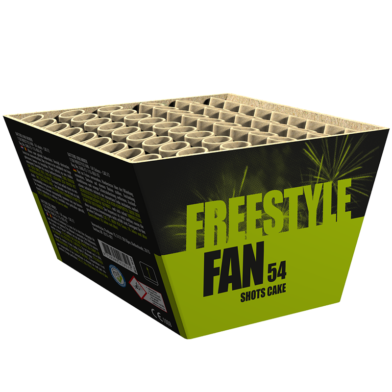 Freestyle Fan Karton