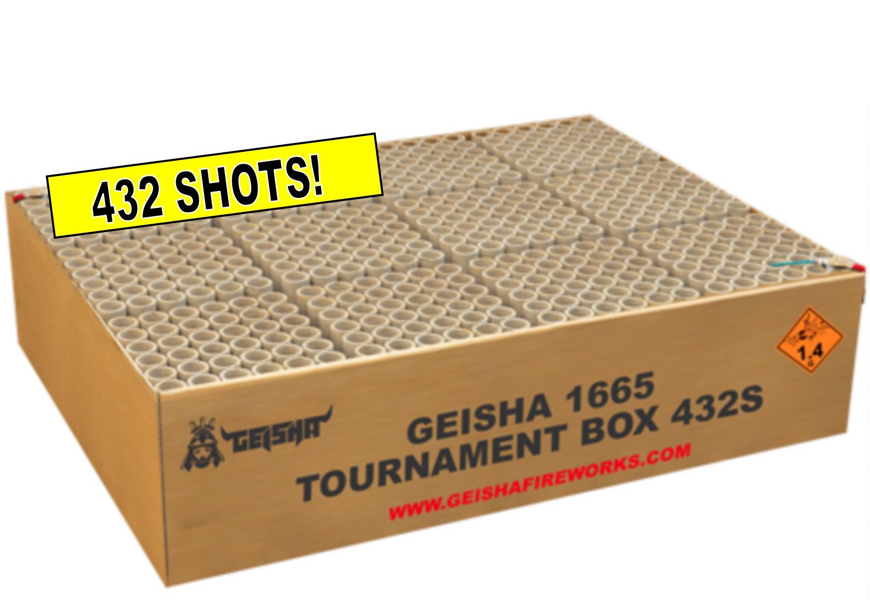 ART. 1665 TOURNAMENT BOX, 432 SHOTS