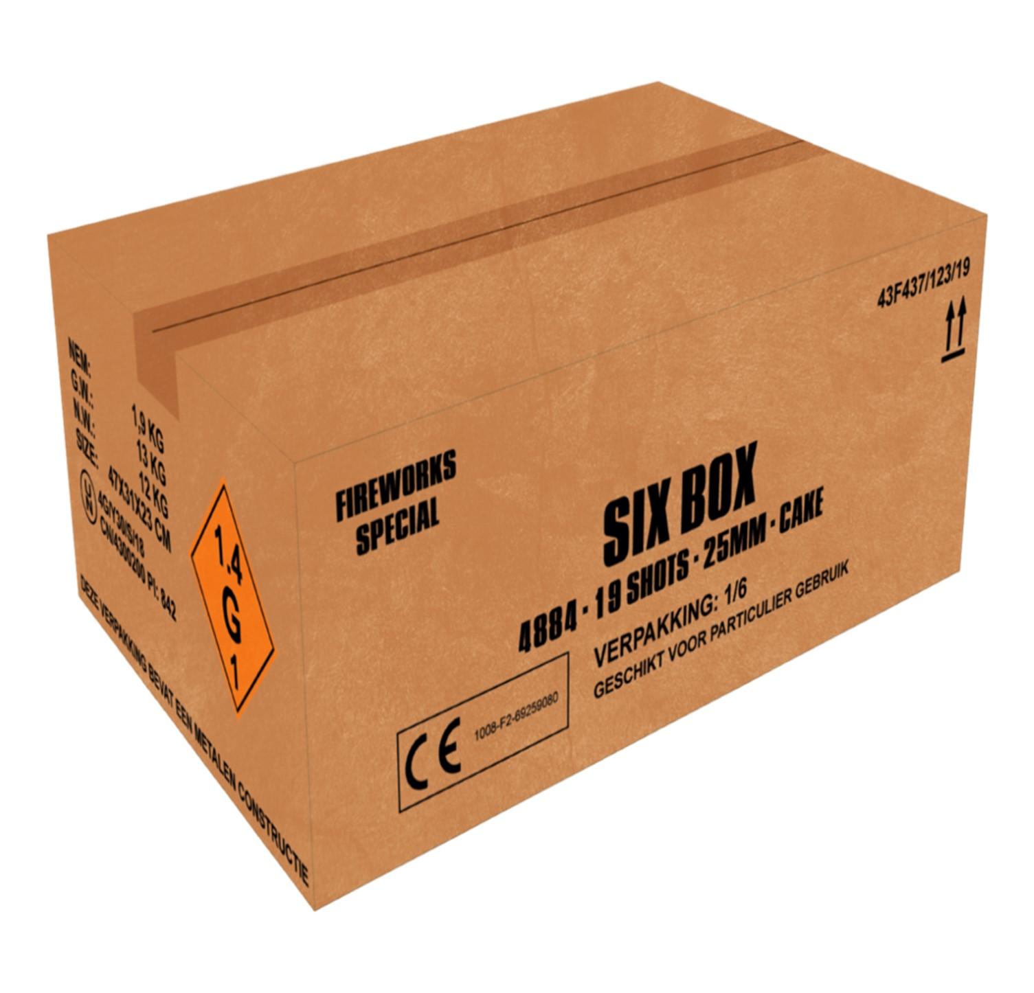 ART. 4884 SIX ASS. BOX, 6 X 19 ASS. BOX. NIEUW!