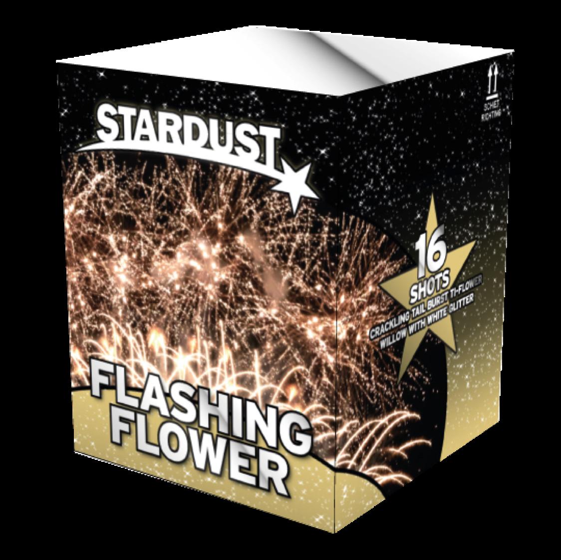 ART. 2201 FLASHING FLOWER (SD-01), 16 SHOTS
