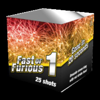 ART. 6601 FAST OR FURIOUS (FF-01), 25 SHOTS