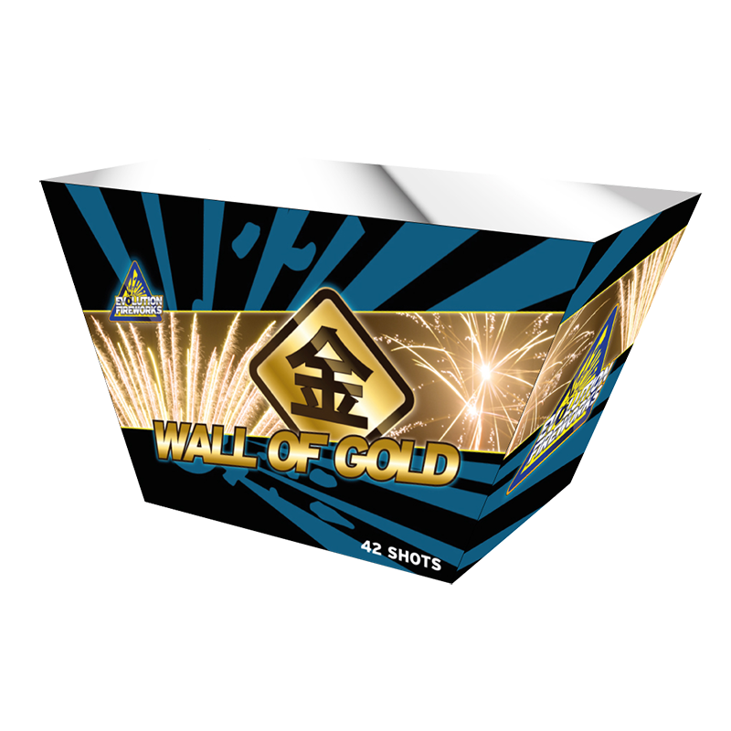 ART. 8802 WALL OF GOLD (EVO-02), 42 SHOTS
