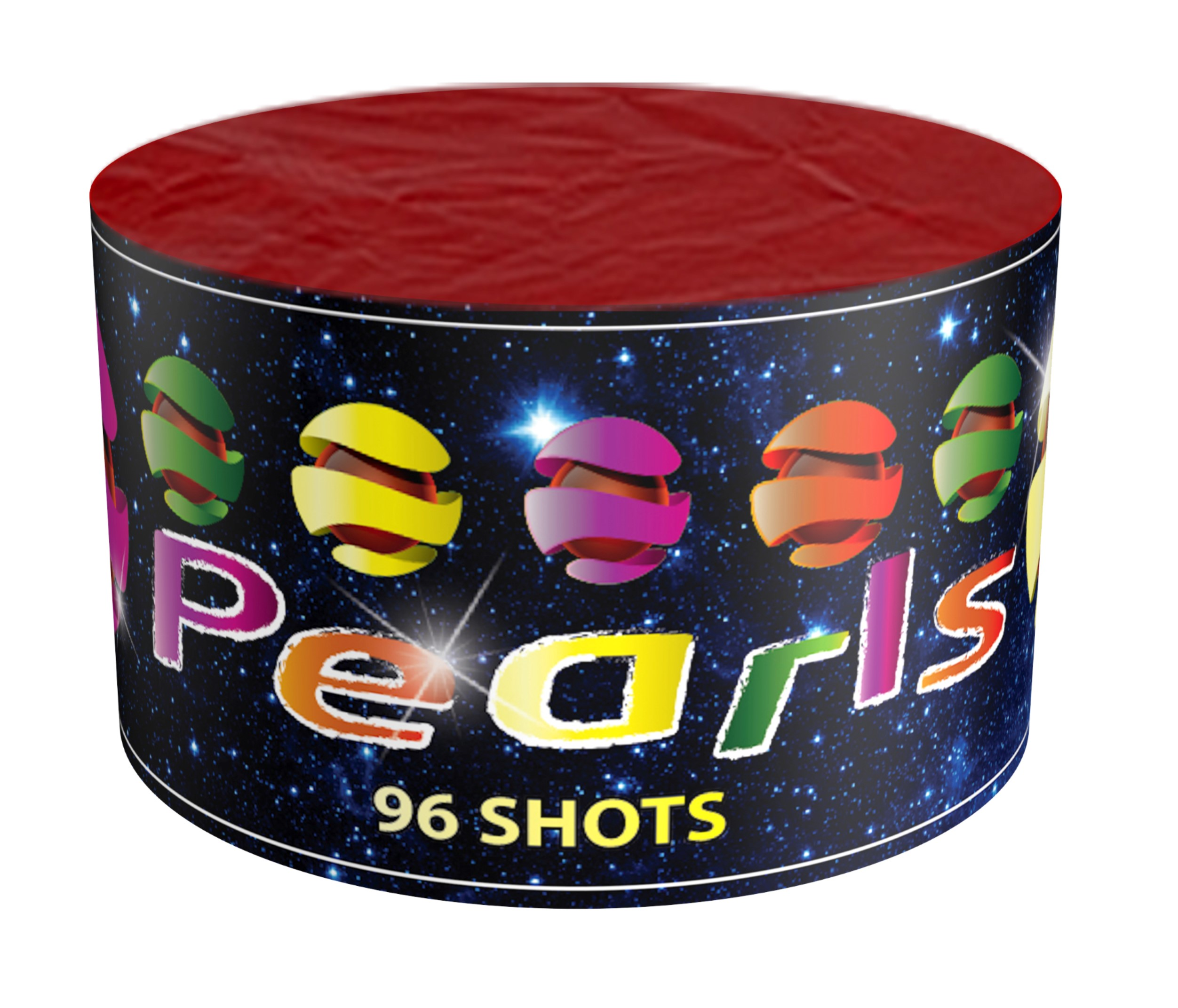 ART. 5602 COLOR PEARLS, 96 SHOTS.