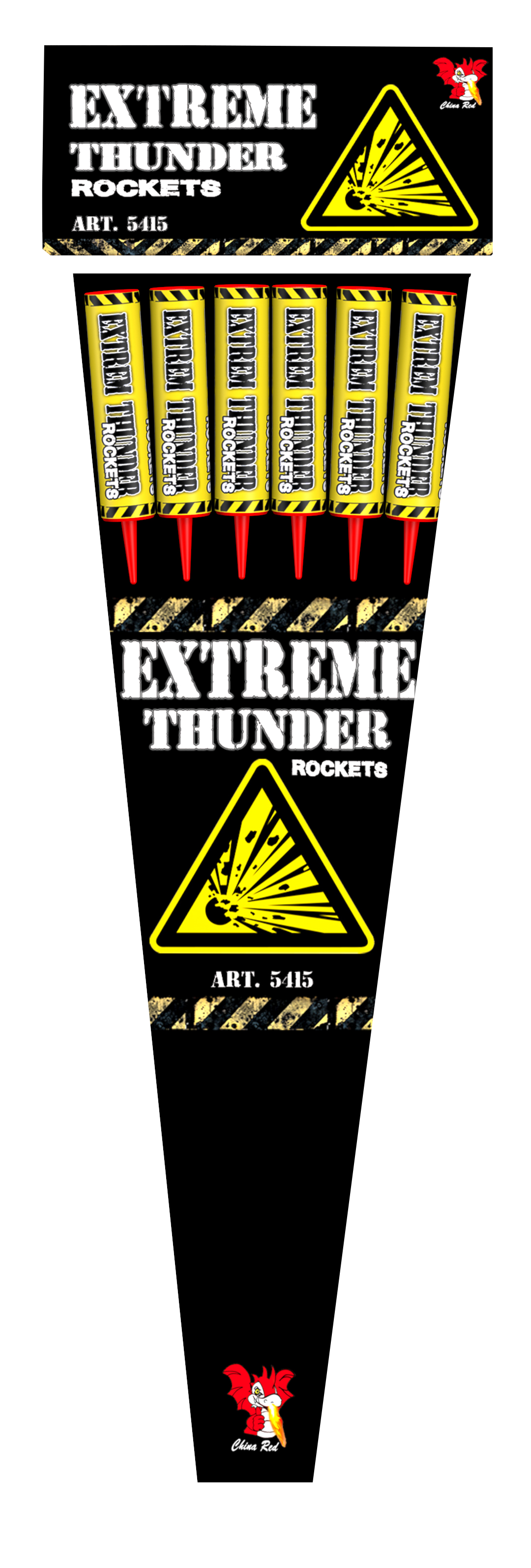ART. 4706 EXTREME THUNDER ROCKETS